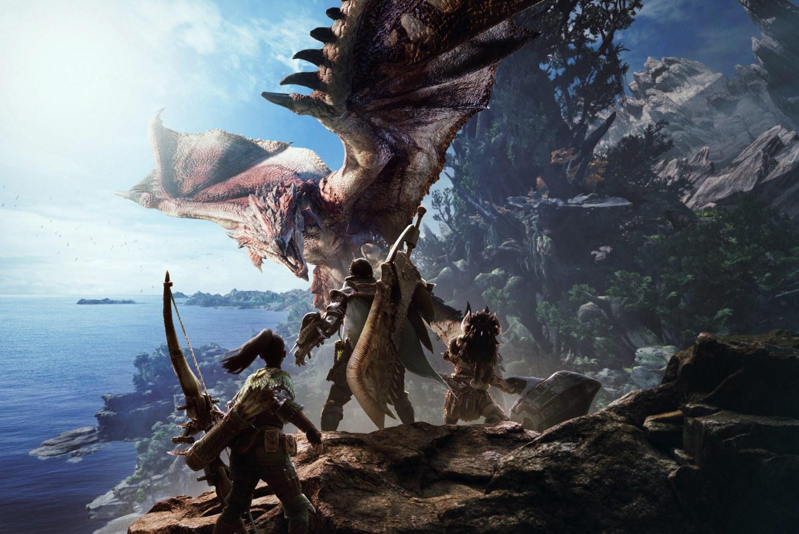 Monster Hunter World, Games, Online Games, Video Games