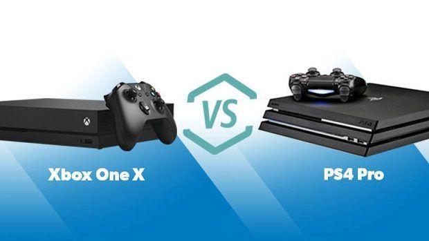 XboxoneX VS PS4Pro, Games, Online Games, Video Games,Gadgets,Consoles