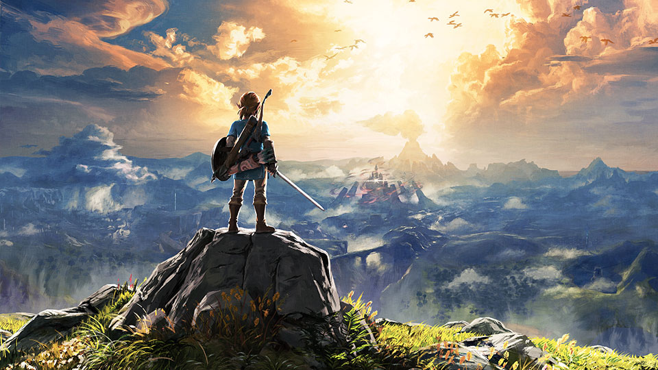 The Legend of Zelda: Breath of the Wild, Games, Online Games, Video Games