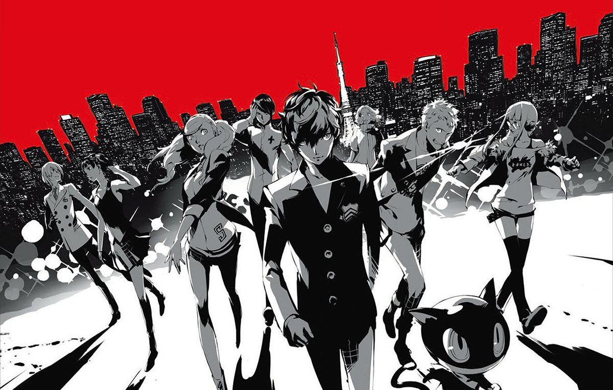 Persona 5, Games, Online Games, Video Games