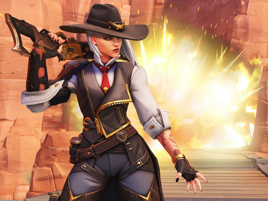 Ashe,Overwaatch,Blizzard,games,gaming,online games,online games