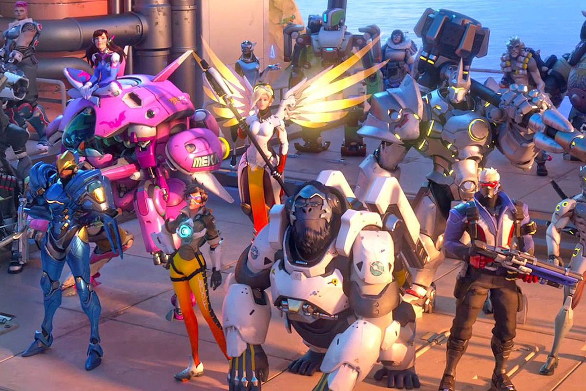 Overwatch,Gaming,Games,Online Games,Video Games