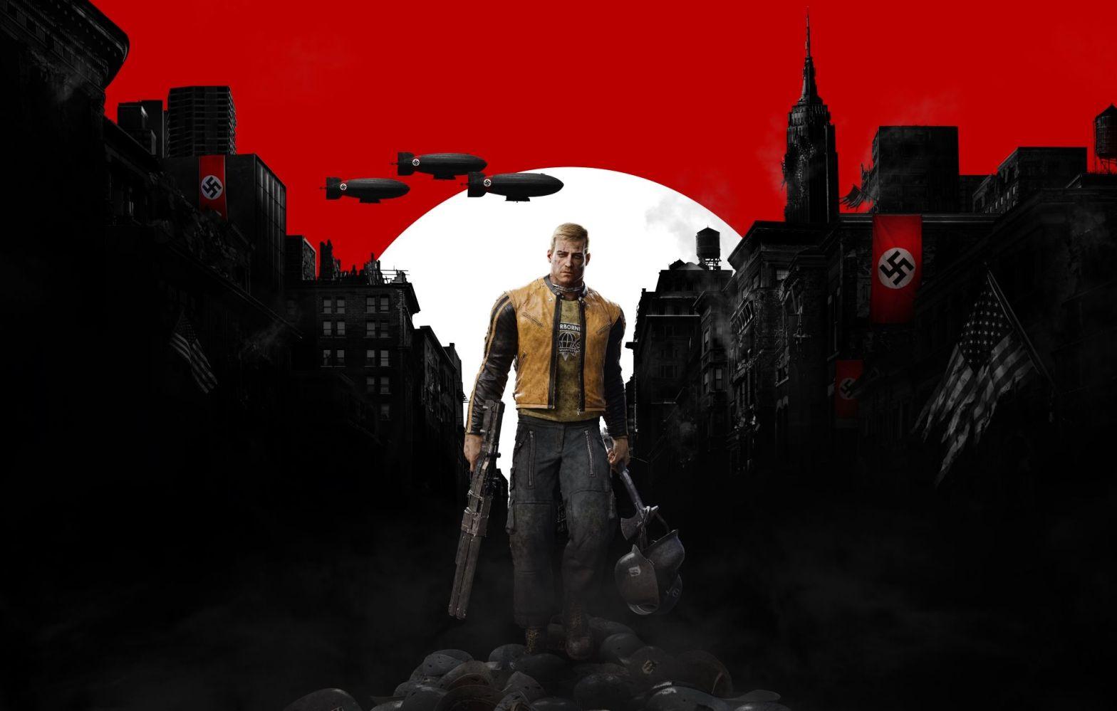 Wolfenstein 2: The New Colossus, Games, Online Games, Video Games