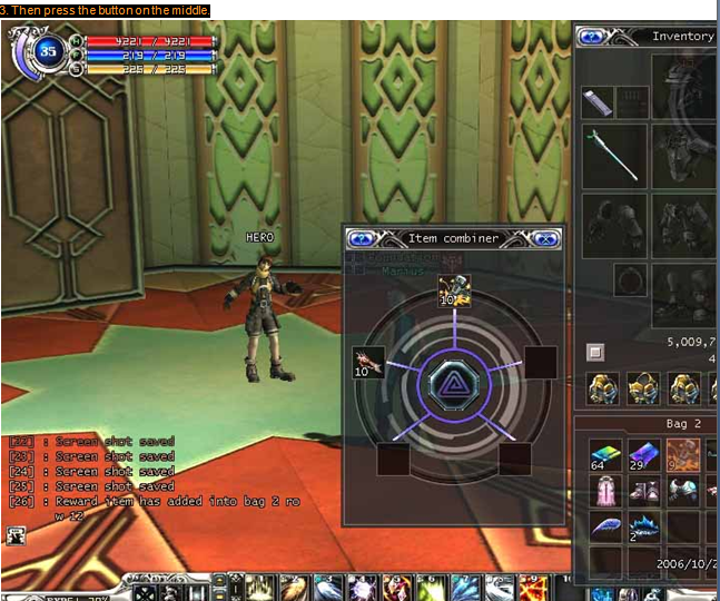 RF Item combination Crafting, Gaming, Games, Online Games, Video Games, Crafting, Recipe