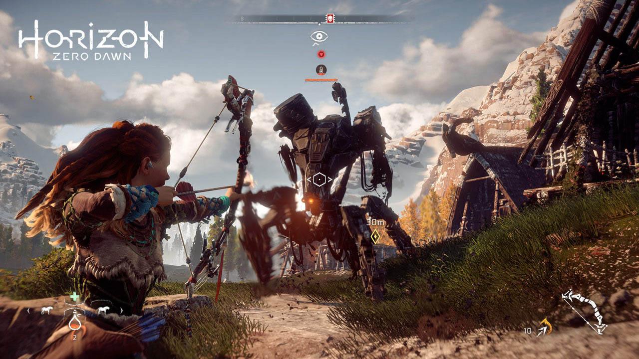 Horizon Zero Dawn, Games, Online Games, Video Games