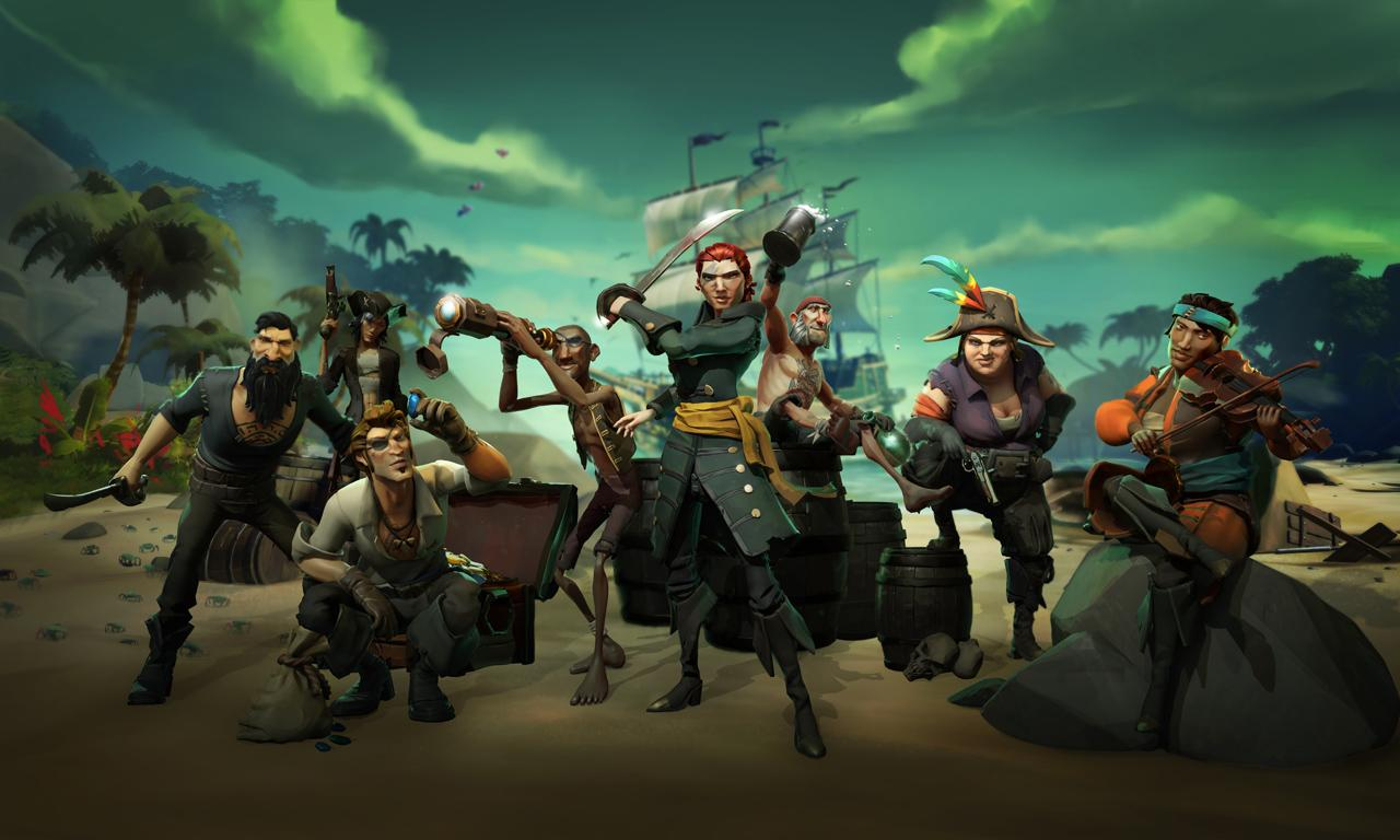 Sea of Thieves, Games, Online Games, Video Games