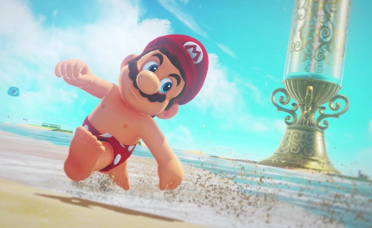 Super Mario Odyssey, Games, Online Games, Video Games